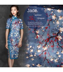 pure silk chinese dress tailor shop chinese dress qipao custom make