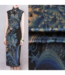 pure silk dress tailor shop dress maker silk qipaohand made cheongsam