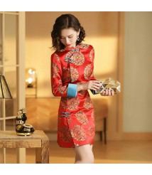 tailor shop custom made qipao chinese dress  bespoke dress maker  formal wedding