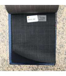 W2014-378 & W2015-378 check  wool and cashmere suit fabric