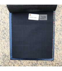 W2016-378 & W2017-378  check  wool and cashmere suit fabric