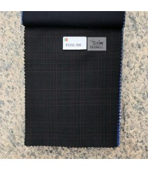 W2361-378 & W2362-378 check  wool and cashmere suit fabric