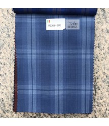 W2365-378 & W2366-378 check  wool and cashmere suit fabric