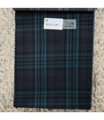 W2369-378 & W2370-378  check  wool and cashmere suit fabric