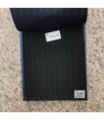 W2037-378 & W2038-378   striped wool and cashmere suit fabric