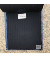 W2048-378 & W20484-378 striped wool and cashmere suit fabric