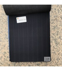 W20503-378 & W20504-378   striped wool and cashmere suit fabric