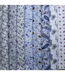 Polyester Lining Fabric PaisleyPrinted Fabric