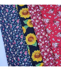 pure cotton Poplin Fabric printed fabric