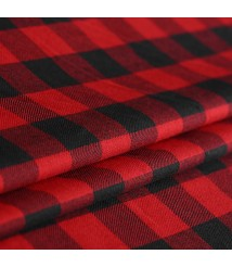 Catwalk yarn-dyed plaid fabric New woolen wool fashion cloth