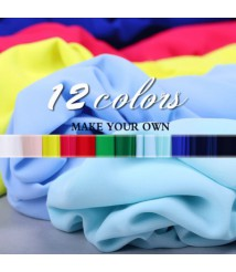 Summer 12-color thin section lining artificial silk georgette breathable clothing lining