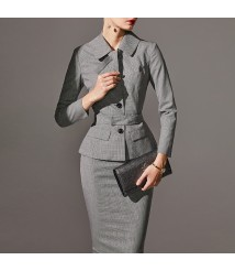 Business wear suit women's new fashion business small suit skirt