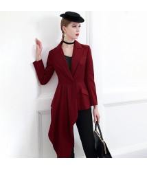 Fashion irregular suit jacket women's small suit 2020 new
