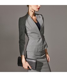 Business wear suit new fashion wool small suit women's skirt