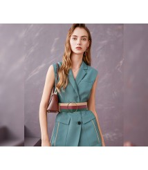 2020 new sleeveless top and shorts two-piece suit