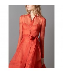 Red long dress 2020 new