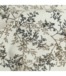 2179 Forget-me-not flower branch pattern Taiwan printed fabric skirt clothing DIY fabric handmade fabric