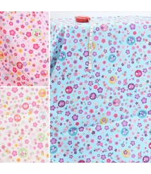 Bronzing and wind floral cloth pure cotton fabric Japanese dress fabric Bronzing small flower circle floral fabric