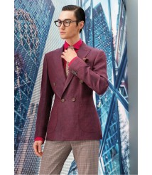 custom made men 4 pocket casual suit wool and cashmere fabric style-z06